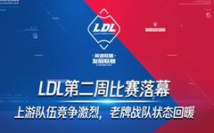 LDL一图流:四支战队至今未尝一败